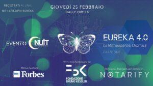 Evento online: Eureka 4.0 . La metamorfosi digitale - parte 2