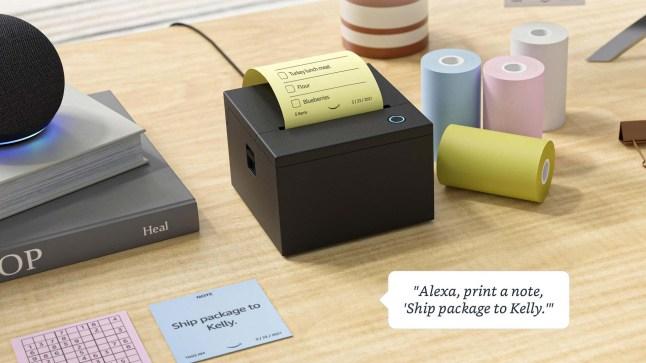 Iot: Amazon Smart Sticky Note Printer