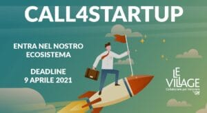 Call for startup Le Village, milano