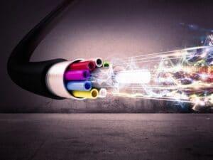 fibra ottica, connettività