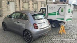 Startup E-gap. ricarica batteria auto elettrica a domicilio