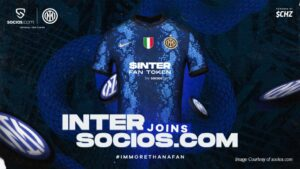 Blockchain: Socios.com sponsor Inter